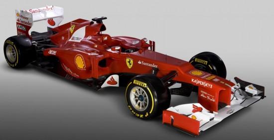 F1 Season Ferrari F