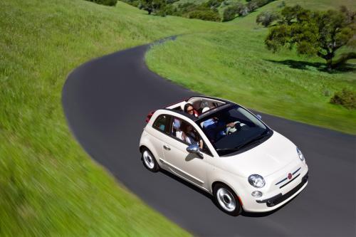 2012 Fiat 500 Cabrio нас премьера