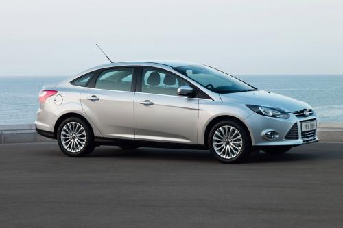2012 Ford Focus UK продаж