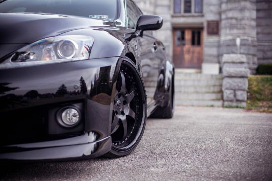 Fox Marketing Lexus IS F Twin Turbo