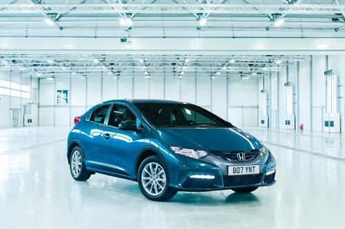 Honda Civic Рейтинг 5 звезд по NCAP