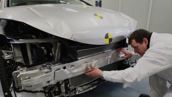 Honda Civic crash test