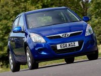 2012 Hyundai i20 Blue, 2 of 3