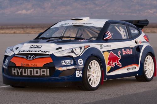 2012 Hyundai Veloster Rally Car [видео]