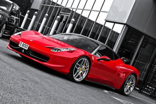 2012 г. Кан Ferrari 458 Italia является аэродинамически уникальный