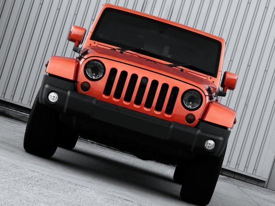 Kahn Jeep Wrangler Military Copper Edition