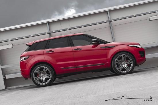Kahn Range Rover Evoque Red