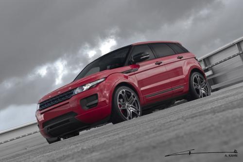 2012 Kahn Range Rover Evoque Красный