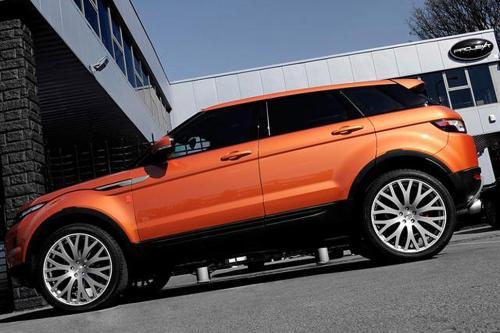 """2012 Kahn Range Rover Evoque Vesuvius - исключительные и \""""кричать\"""" за внимание"""