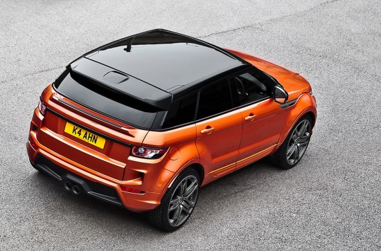 Kahn Range Rover RS250 Vesuvius Copper Evoque