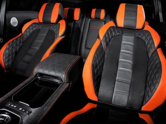 Kahn Range Rover RS250 Vesuvius Copper Evoque