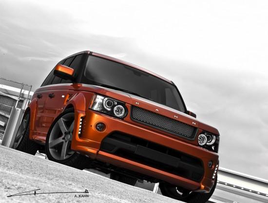 Kahn Vesuvius Orange Range Rover Sport