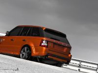 2012 Kahn Vesuvius Orange Range Rover Sport , 3 of 3