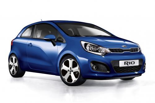 2012 Kia Rio 3-дверный - Цена £9 995