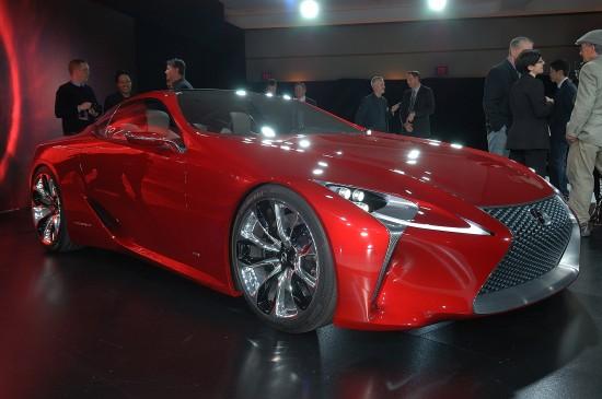 Lexus LF-LC Concept Detroit