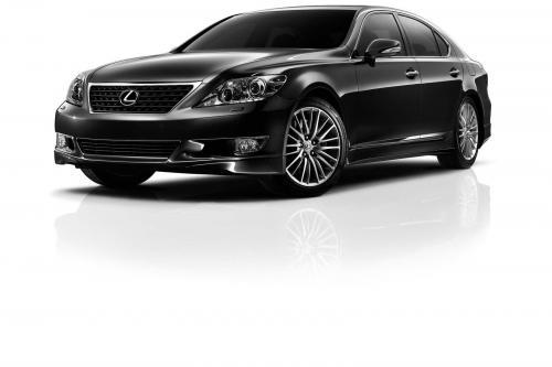 Lexus LS 460 специальное издание модели [фото]