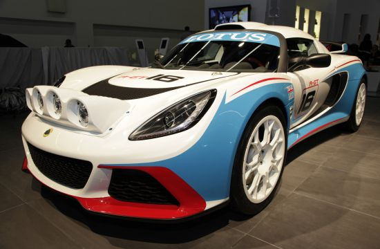 Lotus Exige R-GT Rally Car