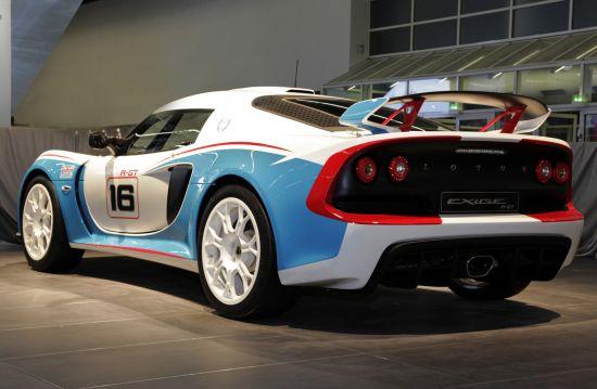 Lotus Exige R-GT Rally Car