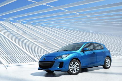 2012 Mazda3 facelift