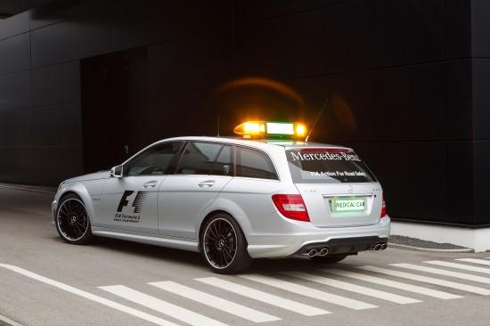 Mercedes-Benz C 63 AMG Estate Official F1 Medical Car