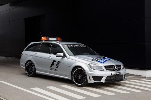2012 Формулы-1, Поддерживаемые Mercedes-Benz SLS AMG Safety Car и C 63 AMG Estate медицинский автомобиль