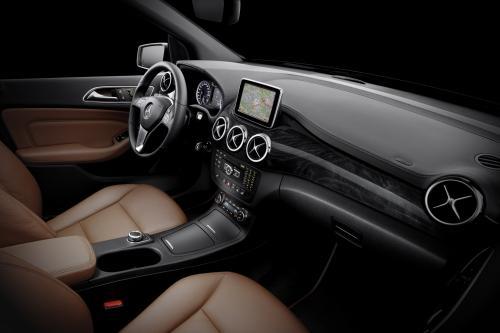 2012 Mercedes-Benz B-Class Интерьер