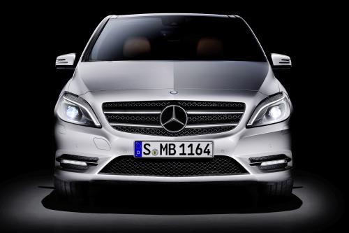 2012 Mercedes-Benz B 180 сертификацию меньше выбросов CO2