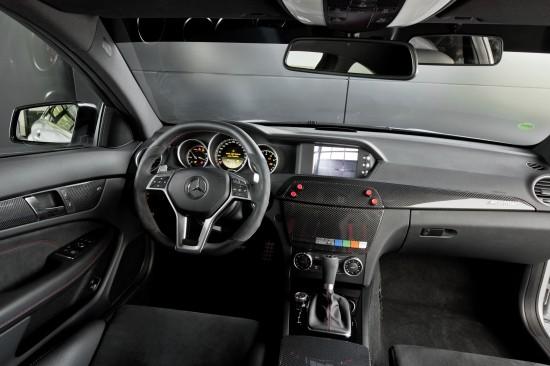 Mercedes-Benz C 63 AMG Coupé Black Series Safety Car
