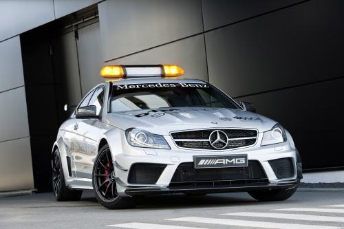 2012 Mercedes-Benz C 63 AMG Coupé Black Series безопасности автомобиля - самый мощный C-Class когда-либо созданных