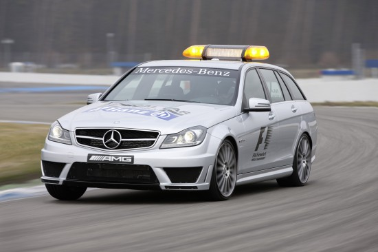 Mercedes-Benz C 63 AMG Safety Car