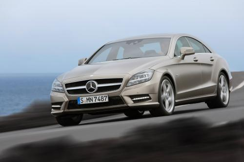 2012 Mercedes-Benz CLS начало продаж