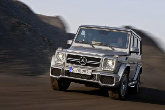 Mercedes-Benz G-Class UK