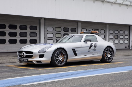 Mercedes-Benz SLS AMG Safety Car