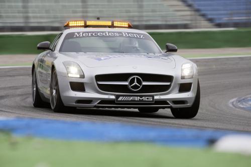 2012 Mercedes-Benz SLS от AMG - safety CAR [фотографии]