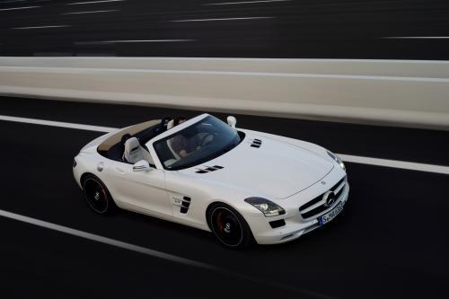Mercedes-Benz SLS AMG Roadster [HD-видео] - 0-327 км/ч