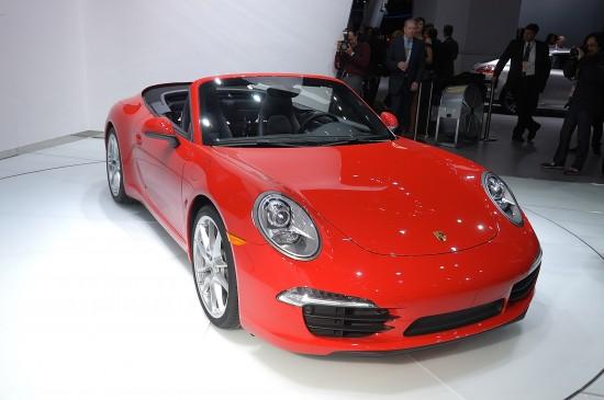 Porsche 911 Carrera Cabriolet Detroit