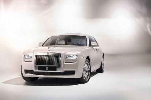 2012 Rolls-Royce Ghost Six Senses Concept обеспечивает новый уровень сенсорных снисхождения