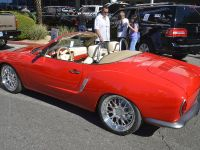 1972 Karmann Ghia on Porsche Boxster chassis and drivetrain.