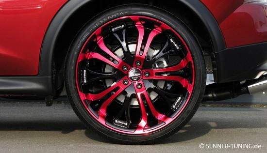 Senner Nissan Juke 20 Tzunamee Candy Red