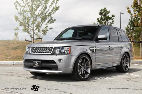 SR Auto Range Rover показывает Диапазон деталей