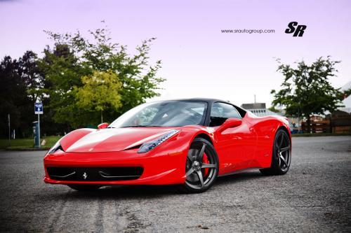 2012 SR Ferrari 458 Italia: проект изысканной красотой