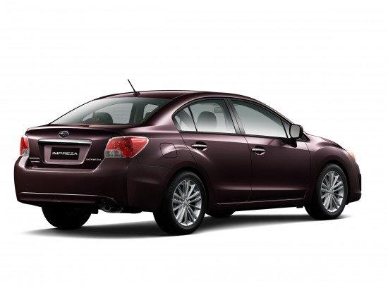 Subaru Impreza 2.0i limited 4-Door