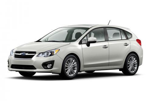 2012 Subaru Impreza официально представила