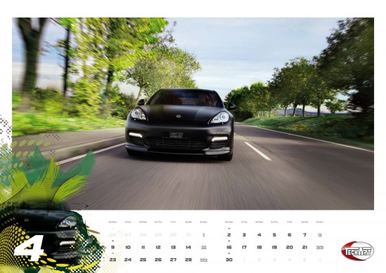 TECHART wall calendar