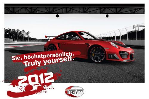 2012 TECHART настенный календарь