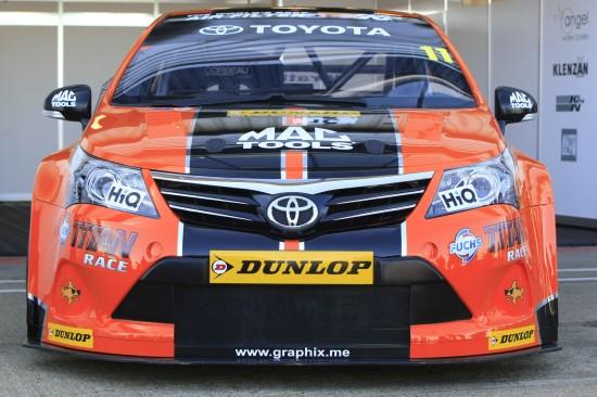 Toyota BTCC Race Cars