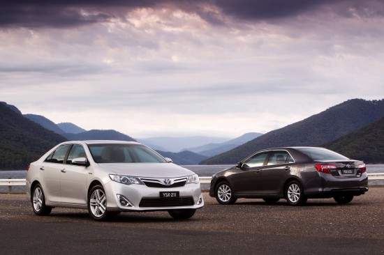 Toyota Camry Hybrid Trifecta