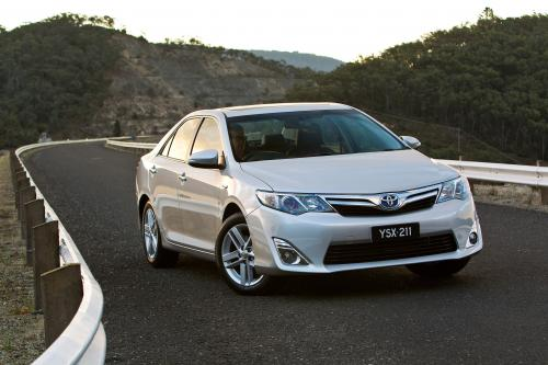 2012 Toyota Camry Hybrid Тройной