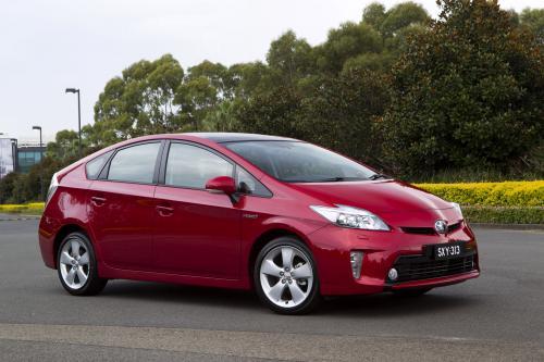 2012 Toyota Prius в Австралии