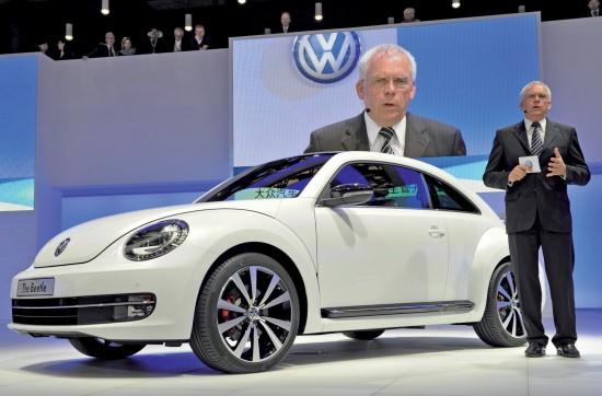 2012 Volkswagen Beetle Shanghai